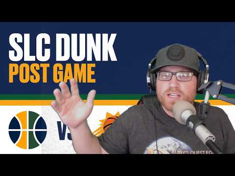 SLC Dunk Post Game Show: Utah Jazz lose to Phoenix Suns 10/25/2017