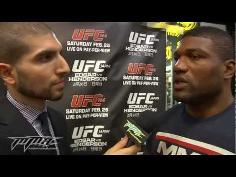Rampage Jackson Doesn't Back Down From Calling Joe Rogan 'Fake'