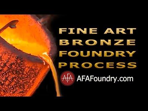 Art Bronze Foundry Tour | Bronze Casting Process - Burbank, CA