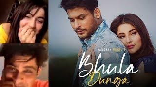 Bhula Dunga Video Song Promotiona By SidNaaz -  Siddharth Shukla | Shehnaaz Gill