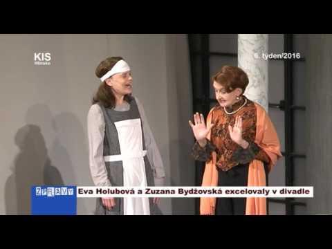 Eva Holubová a Zuzana Bydžovská excelovaly v divadle