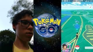Caçando Pokémon Go no Ibira corri a toa