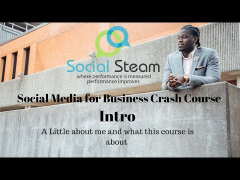 Intro to Social Steam the Social Media for Small Business Crash Course