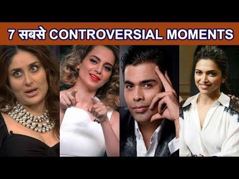 Koffee With Karan के 7 Most Controversial Moments| Hardik Pandya| Ranveer Singh | Sonam Kapoor