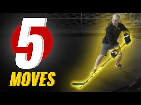 5 Stickhandling Moves That Are IMPOSSIBLE TO DEFEND