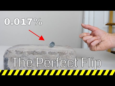 Is it Possible to Drop a Coin to Land on Its Edge Every Time?