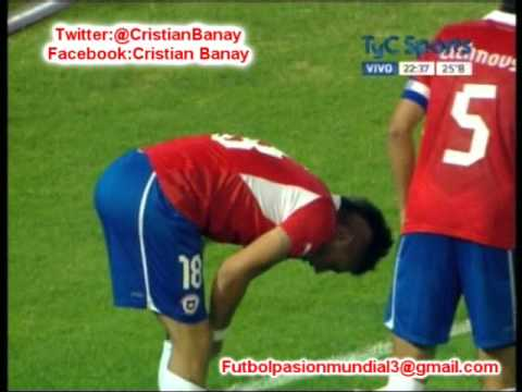 Argentina 0 Chile 1 (Audio Radio Agricultura Chile) Sudamericano Sub 20 2013 (9/1/2013)