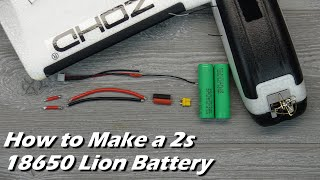 Download How-to Make a 2s 18650 LION Battery with Balance Lead