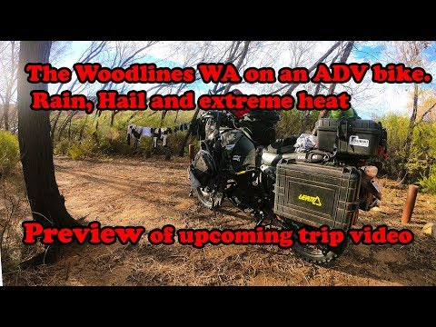 The Woodlines Western Australia on the KLR - Preview