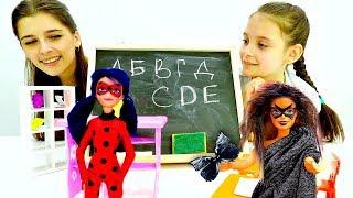 В Барби вселилась Акума. Игры с куклами Леди Баг и Супер Кот.