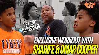 COACH DEZ EXCLUSIVE Workout with SHARIFE & OMAR COOPER | Invested in PERFECTING Their GAME