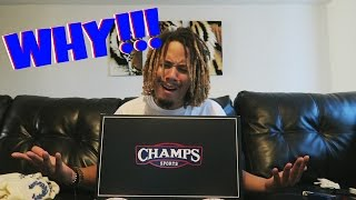 WHY CHAMPS ?!?!? NOT AGAIN !!! UNBOXING FROM CHAMPS SPORTS !!