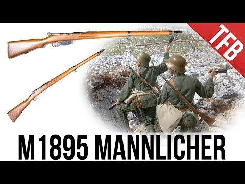 8x50R Austrian M1895 Mannlicher Straight-Pull - The Original!