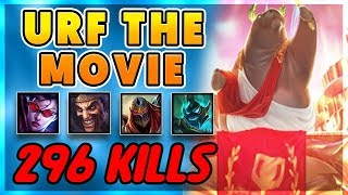 URF THE MOVIE - MY BEST URF GAMES EVER IN 1 VIDEO (296 KILLS!!) - BunnyFuFuu