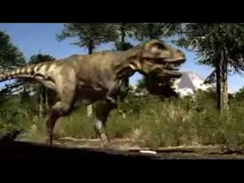 T-REX VS ANKYLOSAURUS Walking with Dinosaurs Series - YouTube