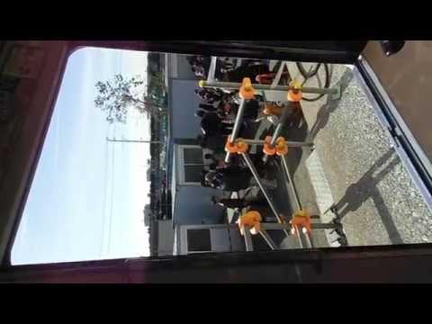 東武8000系車掌体験 東武ファミリーイベント2014