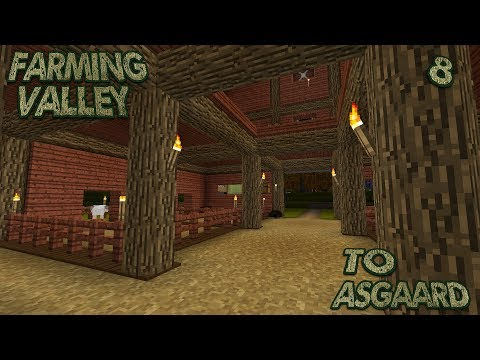 Farming Valley Modded Minecraft LP EP #8: A Home For Bessie