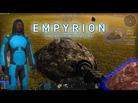 Empyrion Galactic Survival | We Must Find Resources | Drilling for Ore and More | Ep. 2