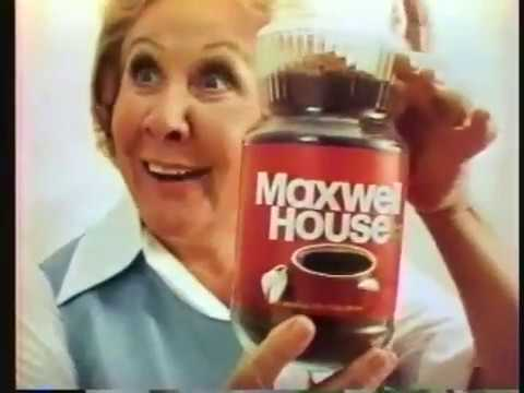 Vivian Vance 1975 Maxwell House Coffee Commercial
