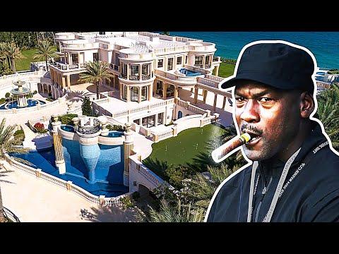 Inside Michael Jordan's 60 Million Dollar Mansions