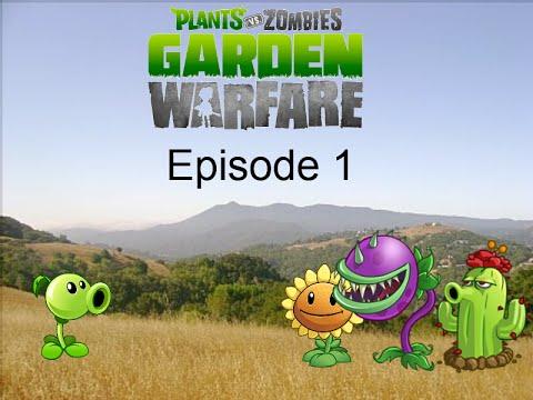Plants Vs Zombies Garden Warfare Plush Series Episode 1 Meet The Plants Youtube