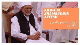 hazrat khwaja shamsuddin azeemi