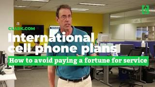 International cell phone plans