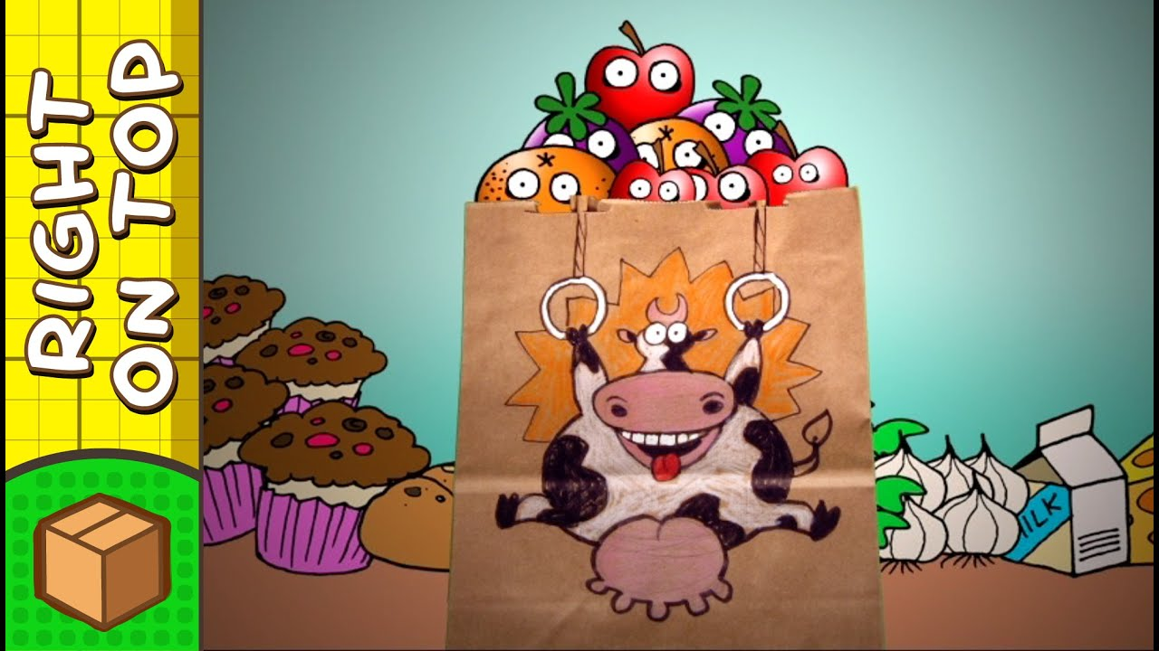 crafts ideas for kids cow paper bag diy on boxyourself youtube