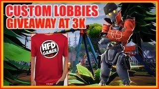 100$ Giveaway 3k Playing Custom Lobbies And Creative Fortnite Battle Royal