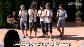 One Direction - Barbara Walters Interview Arabic sub مترجمة عربي HD