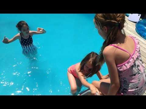 Kids Solar pool heater