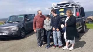 Land Rover Convoy Lands End to John O'Groats 2016