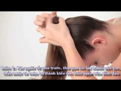 Học búi tóc qua video