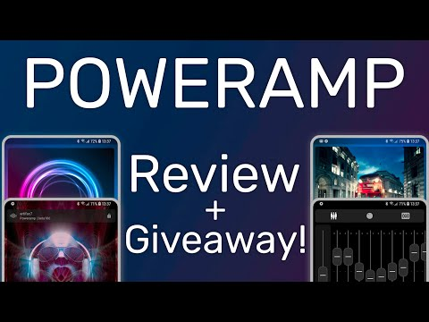 Poweramp 3.0 - Android's Most Powerful Music Player [Review + Giveaway]