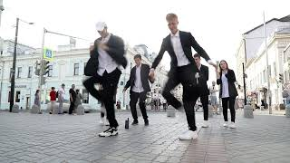 PAPA AMERICANO SHUFFLE DANCE 🔥 ТИК ТОКЕРЫ УСТРОИЛИ ТАНЦЫ В ПАРКЕ !