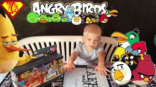 ���������� ������� ���� ����� ���� ���  Unboxing toy Angry Birds Star wars Tele Pods