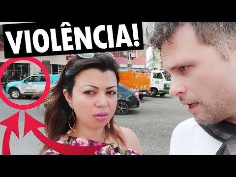 PRESENCIAMOS A VIOLÊNCIA NAS RUAS DO BRASIL - Vlog Ep.113