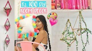 10 Room Decor DIYs under ₹100 / Mridul Sharma