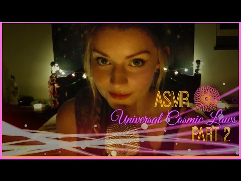🌎 ASMR Whispering For Relaxation: Universal Cosmic Laws Part 2 ⚛