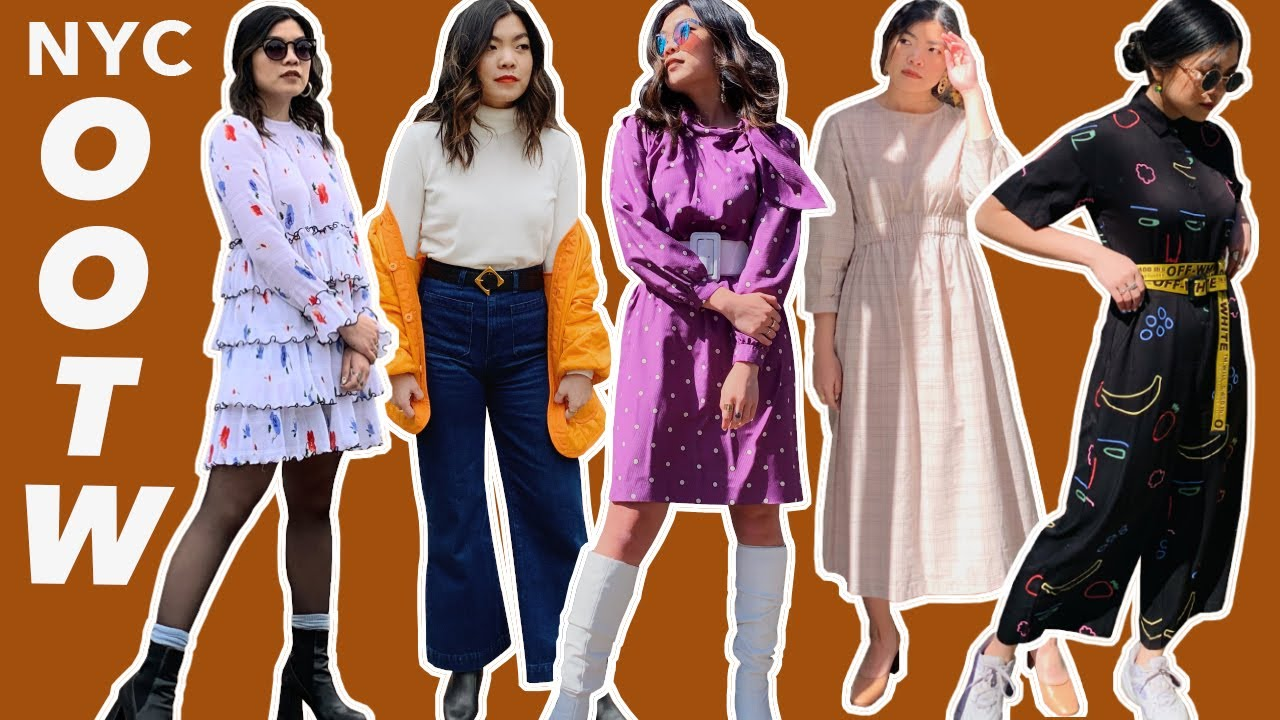 NYC OOTW!   Spring Outfit Inspo + Lookbook —ASOS, Shein, Vintage & More 8