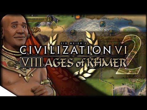 Classical Khmer, Plus Buddhism | Civilization VI — 8 Ages Of Khmer 2 | Terra Emperor