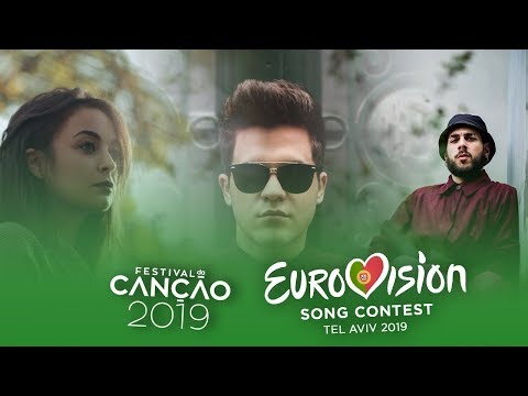 eurovision-2019-(festival-da-canção-2019/portuguese-national-selection)---top-16