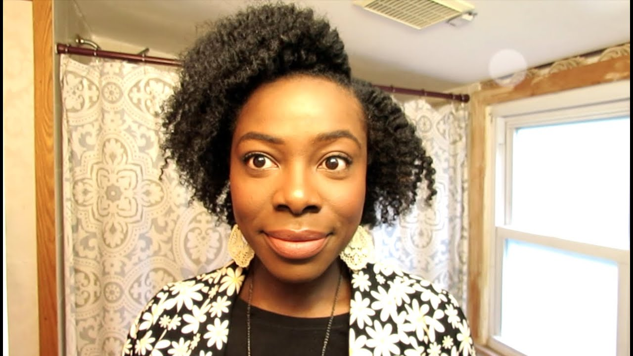 natural hair| flat twist out tutorial (short to medium length