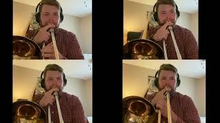 Shenandoah trombone quartet version (played by D.J. Stout)