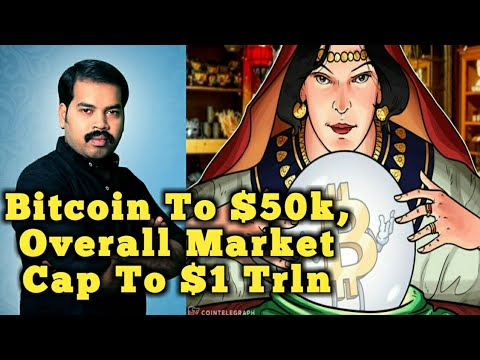 #Bitcoin To $50k, Overall Market Cap To $1 Trln | End 2018 #TamilScreenReview