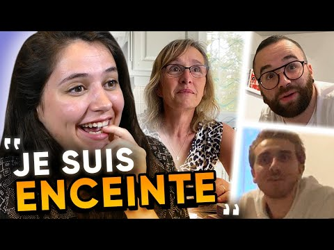 J&39;ANNONCE MA GROSSESSE À MES PROCHES