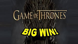 BIG WIN on Game of Thrones Slot - £3 Bet(Join me at Rizk for an exclusive NickSlots bonus! @ http://nickslots.com/yt/rizk Nice base game hit!, 2016-12-22T10:34:19.000Z)