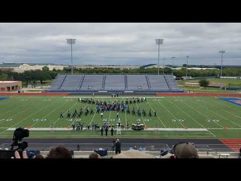 China Spring Cougar Band - UIL Region 8 Marching Band Contest 2018