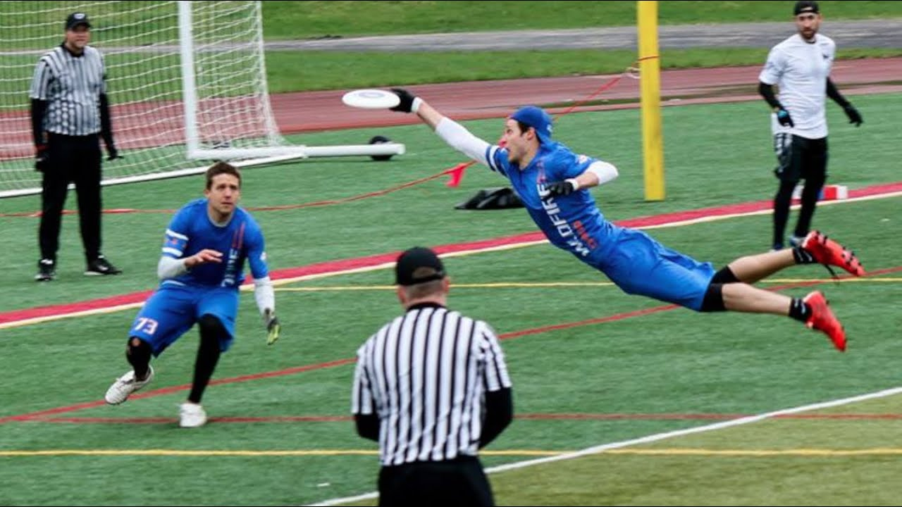 Best Ultimate Frisbee Highlights | Part 1 - YouTube