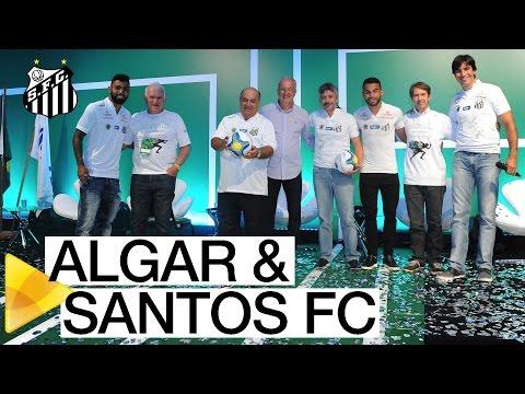Santos FC participa da convenção da patrocinadora Algar